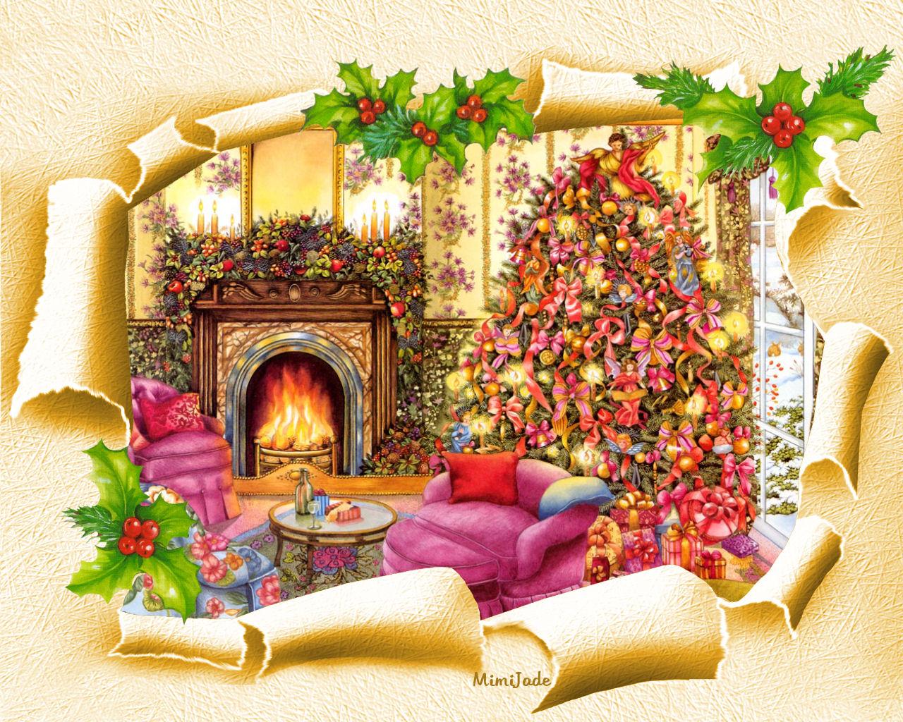 Obrazki świąteczne Magia świąt Bożego Narodzenia życzenia