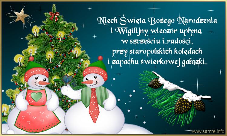 Znalezione obrazy dla zapytania kartka z życzeniami świąteczne bożonarodzeniowe
