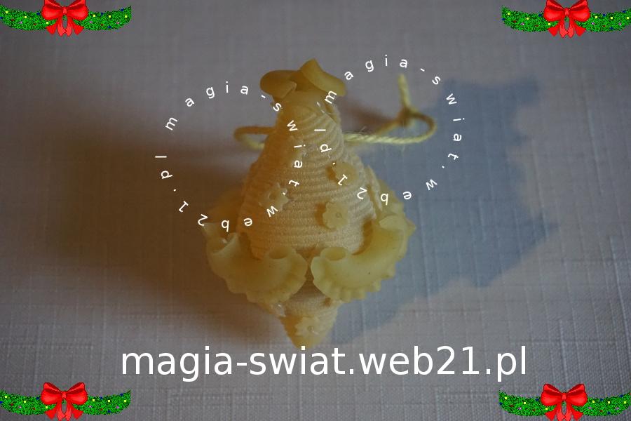 Bombka z makaronu wg Violi