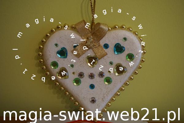 Styropianowe serce wg Violi (sposób II)